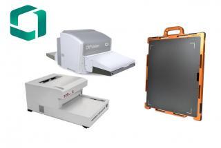 Digitalizačný skener, Panelové detektory, Digitálna rádiografia v priemysle